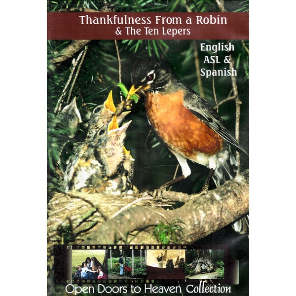 Thankfulness From a Robin & The Ten Lepers - DVD