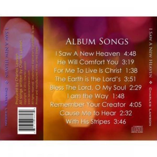 I Saw a New Heaven - Audio CD