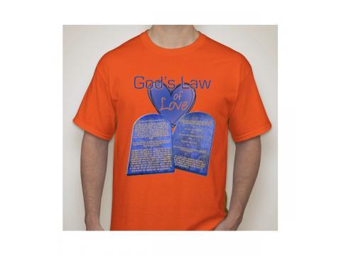 Ten Commandments T-shirts