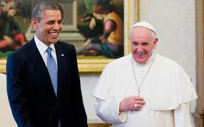 Obama, Pope, Revelation 13 Fulfilling