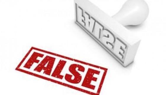 false stamp