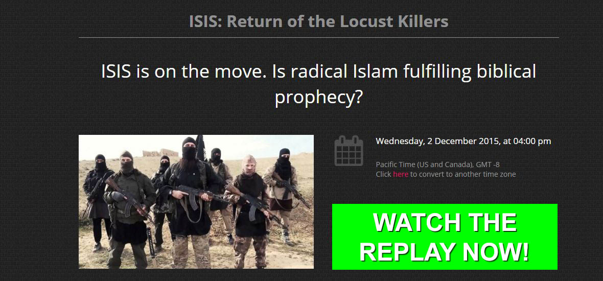 ISIS: Return of the Locust Killers Webinars