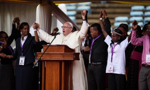 Pope Says Fundamentalism is a Disease