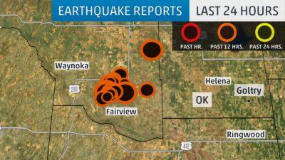 30 oklahoma quakes