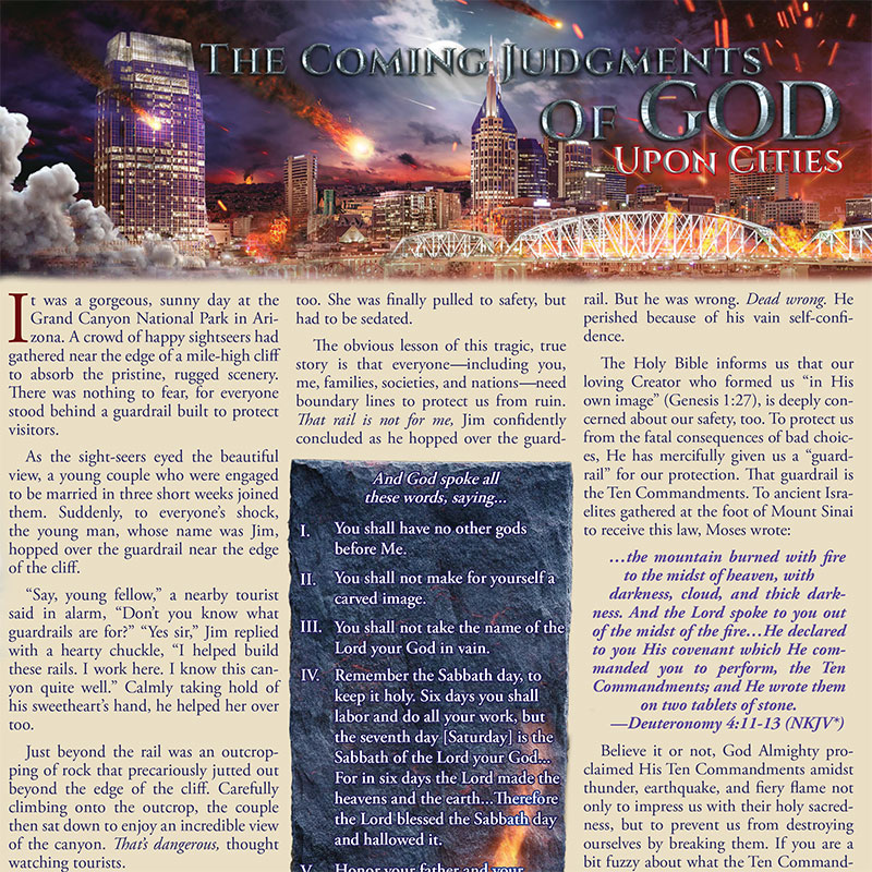 The Coming Judgments of God Upon Cities