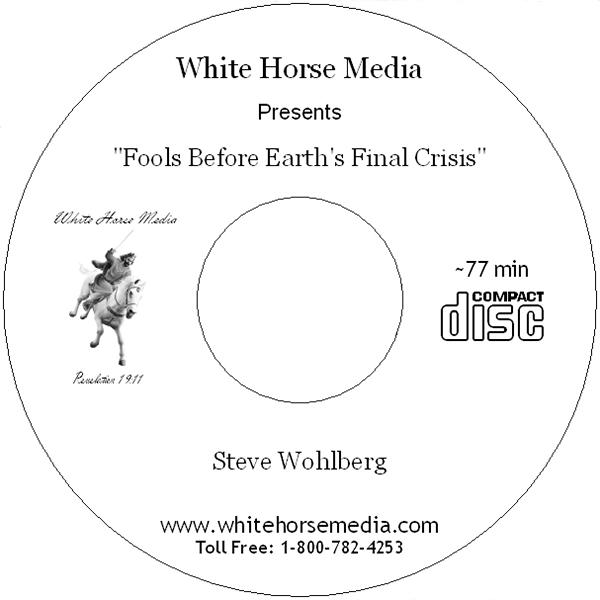 Fools Before Earth's Final Crisis - Audio CD