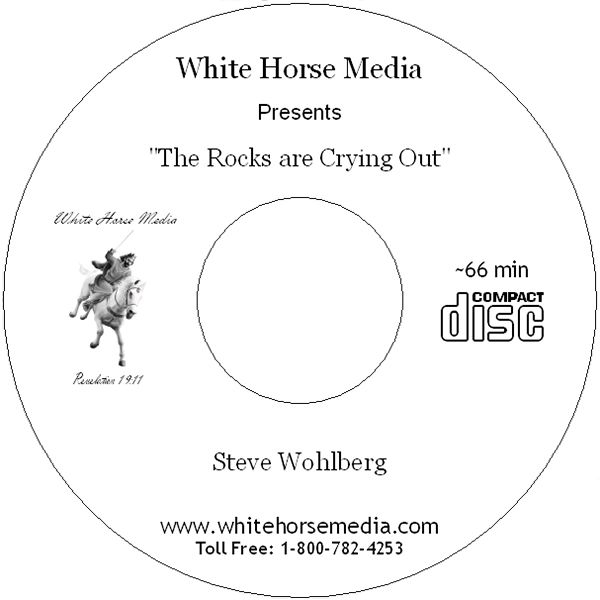 The Rocks are Crying Out - Audio CD