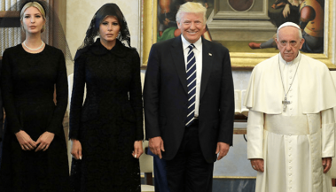 Trump Meets the Pope