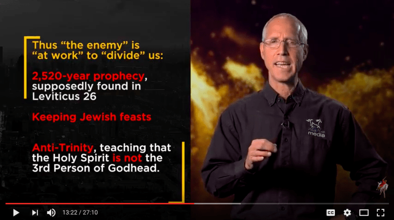 If you aren't an Adventist, there is still much of great value for you to  watch in this video—especially the parts about the Three Angels' Messages  of ...