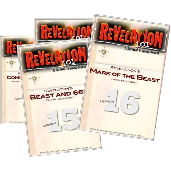Revelation 101 Survival Training Course Study Guides