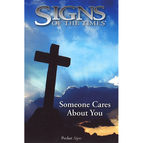 """""""Someone Cares About You"""" Tracts - Pack of 100"""