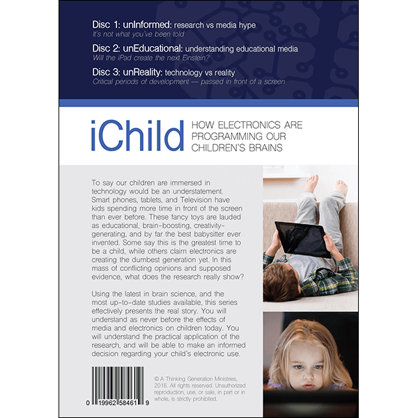 iChild DVD Cover Back