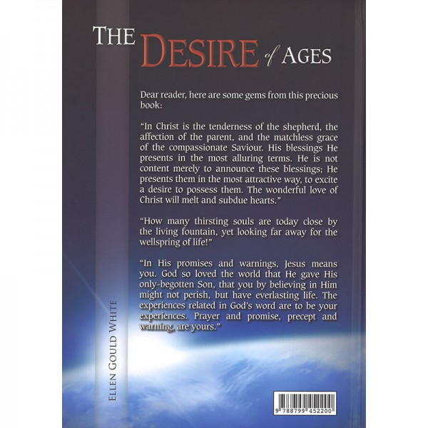The Desire of Ages Illustrated Hardcover Back