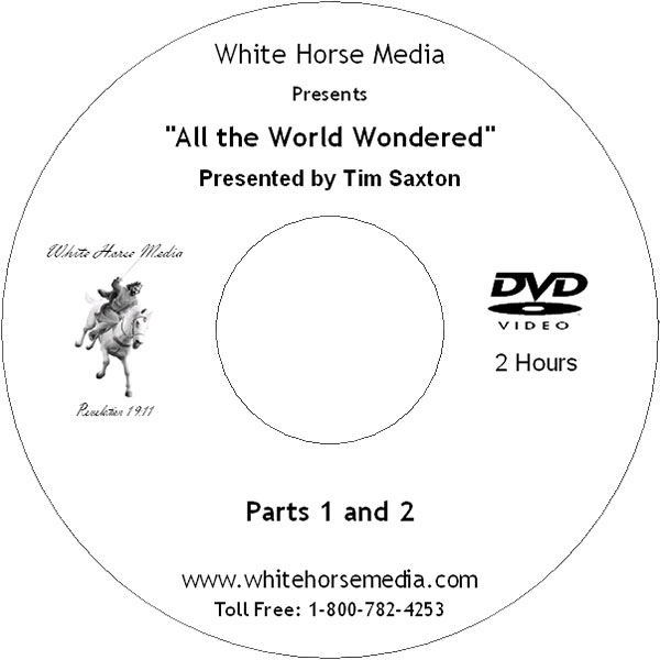 All the World Wondered DVD