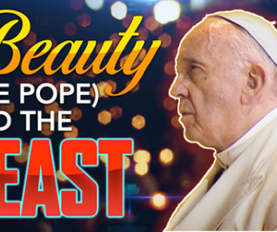 Beauty (the Pope) and the Beast