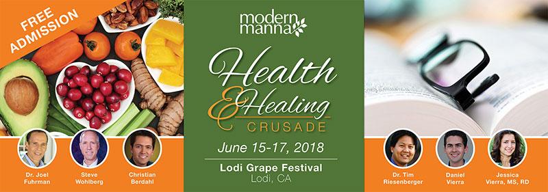 Steve Wohlberg at 2018 Health and Healing Crusade