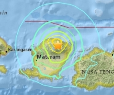 Earthquake Strikes Indonesia