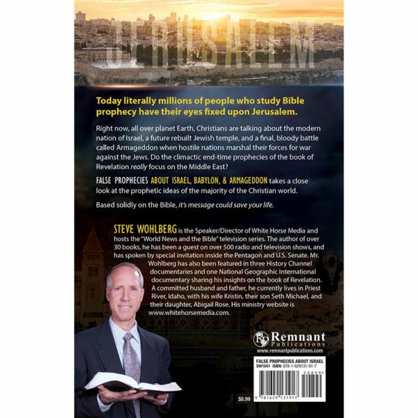 False Prophecies about Israel, Babylon, & Armageddon Back Cover