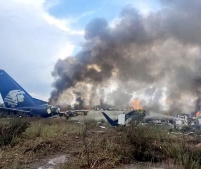 Mexico Plane Crash