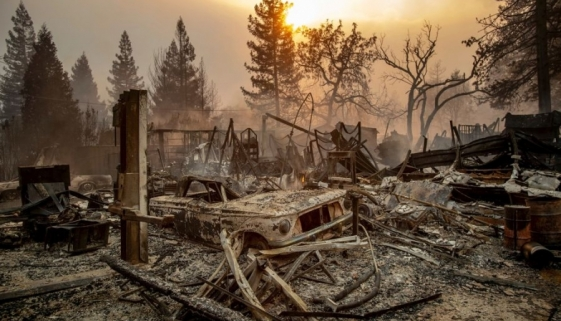 Wildfires Destroy Whole Town