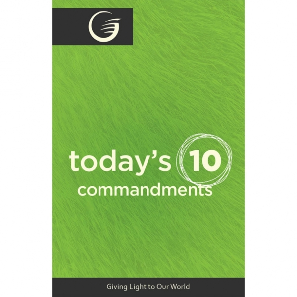 """""""Today's 10 Commandments"""" Tracts - Pack of 25"""