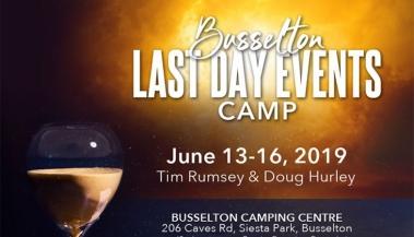 Busselton Camp 2019