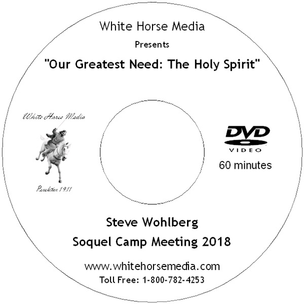 Our Greatest Need: The Holy Spirit DVD