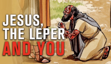 Jesus leper thumb