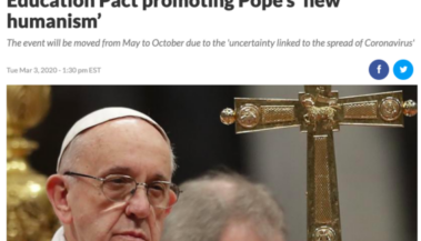 Pope Cancels Pact