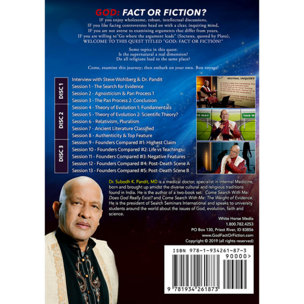 God: Fact or Fiction? Back Cover