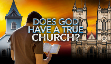 Does God Have a True Church Banner
