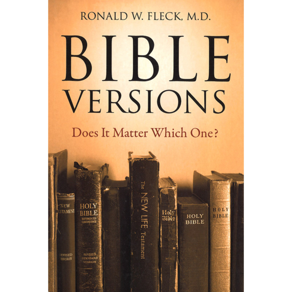 Bible Versions: Does It Matter Which One?